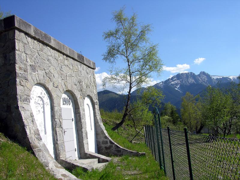 Zbiornik wody na Antałówce. Fot. Anna Karpiel, 2005