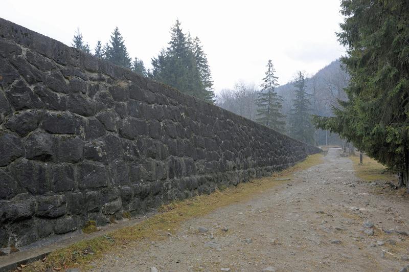 System regulacji potoku Bystra_ Fot. D. Moździerz, 2011
